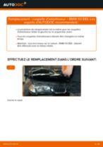 Changement Coupelle d'Amortisseur BMW X3 : manuel d'atelier