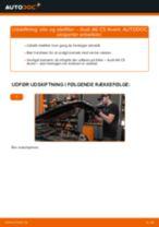 Udskift motorolie og filter - Audi A6 C5 Avant | Brugeranvisning