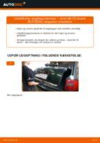 Udskift bagklapsdæmper - Audi A6 C5 Avant | Brugeranvisning