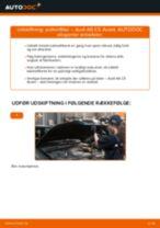 Udskift pollenfilter - Audi A6 C5 Avant | Brugeranvisning