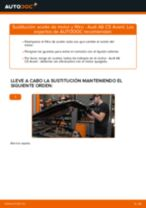 Cómo cambiar: aceite y filtro - Audi A6 C5 Avant | Guía de sustitución