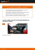Cómo cambiar: amortiguador de maletero - Audi A6 C5 Avant | Guía de sustitución