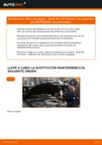 Cómo cambiar: filtro de polen - Audi A6 C5 Avant | Guía de sustitución
