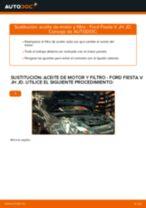 Cómo cambiar Filtro aceite HONDA HR-V - manual en línea