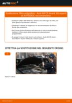 Sostituzione Filtro abitacolo AUDI A6: pdf gratuito