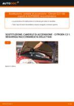 Sostituzione Candele motore benzina CITROËN C3: tutorial online