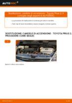Cambio Candela di accensione TOYOTA da soli - manuale online pdf