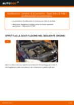 PDF manuale di sostituzione: Candele motore OPEL Astra G CC (T98)