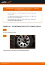 NISSAN LAUREL change Engine Mount rear and front: guide pdf