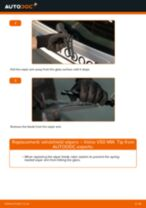 How to replace and adjust Stabilizer bushes VOLVO V50: pdf tutorial