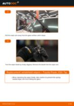 Step by step PDF-tutorial on Anti Roll Bar Bushes Fiat Punto 199 replacement
