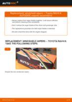 Toyota Avensis T27 repair manual and maintenance tutorial