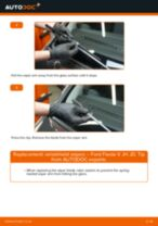 Replacing Wiper motor linkage on HYUNDAI ACCENT IV Saloon (RB) - tips and tricks