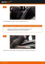 PDF guide för byta: Vindrutetorkare TOYOTA RAV 4 III (ACA3_, ACE_, ALA3_, GSA3_, ZSA3_) bak och fram