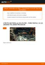 MAHLE ORIGINAL 72014397 för Fiesta Mk5 Hatchback (JH1, JD1, JH3, JD3) | PDF instruktioner för utbyte