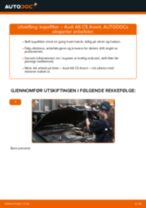Mekanikerens anbefalinger om bytte av AUDI Audi A6 4f2 2.0 TDI Drivstoffilter