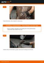 Hvordan bytte Ytterspeil høyre Ford Mondeo b5y - guide online
