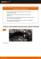 Audi A6 C7 Avant korjaus- ja huolto-opas