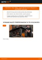 Jak wymienić oleju silnikowego i filtra w Audi A6 C5 Avant - poradnik naprawy