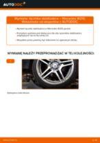 Montaż Drążek wspornik stabilizator MERCEDES-BENZ E-CLASS (W210) - przewodnik krok po kroku