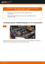 Jak wymienić świece zapłonowe w Opel Astra G F48 - poradnik naprawy