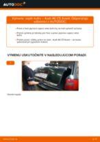Ako vymeniť vzpěry kufru na Audi A6 C5 Avant – návod na výmenu