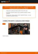 Jak vyměnit motorový olej a olejový filtr na Audi A6 C5 Avant – návod k výměně