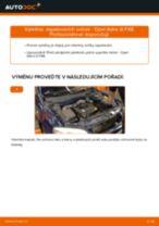 Jak vyměnit zapalovací svíčky na Opel Astra G F48 – návod k výměně