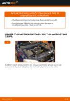PDF εγχειρίδιο αντικατάστασης: Μπουζί OPEL Astra G CC (T98)