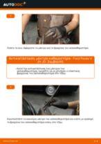 Πώς να αλλάξετε μάκτρο καθαριστήρα πίσω σε Ford Fiesta V JH JD - Οδηγίες αντικατάστασης