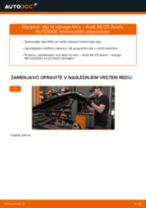 Kako zamenjati avtodel motorna olja in filter na avtu Audi A6 C5 Avant – vodnik menjave