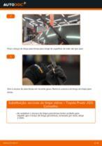 Manual DIY sobre como substituir o Cubo da Roda no TOYOTA YARIS 2020