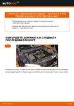 PDF наръчник за смяна: Запалителна свещ OPEL Astra G CC (T98)
