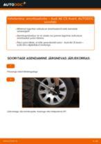 Asendamine Amort AUDI A6: käsiraamatute