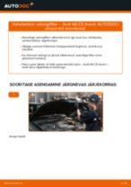Kuidas vahetada Audi A6 C5 Avant salongifilter – õpetus