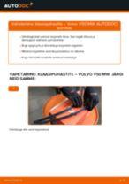 VOLVO C70 töökoja käsiraamat