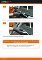 Samm-sammuline PDF-juhend Audi A6 4f Šarniir asendamise kohta