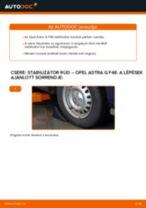 Autószerelői ajánlások - Astra H Caravan 1.7 CDTI (L35) Toronycsapágy cseréje