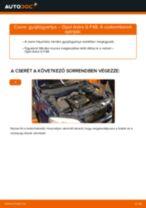 OPEL AGILA felhasználói kézikönyv pdf