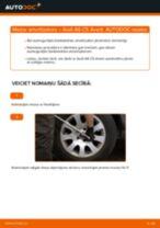 Kā nomainīt: aizmugures amortizatoru Audi A6 C5 Avant - nomaiņas ceļvedis