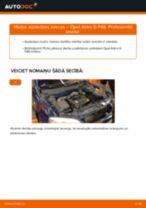 Kā nomainīt: aizdedzes sveces Opel Astra G F48 - nomaiņas ceļvedis