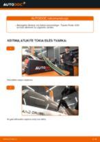 Automechanikų rekomendacijos TOYOTA Toyota Prado J120 4.0 Vikšro Valdymo Svirtis keitimui