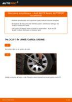Cum se înlocuiesc și se ajustează Amortizor sport AUDI A6: manual pdf