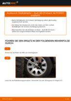 Beheben Sie einen AUDI Stoßdämpfer hydraulisch und luftdruck Defekt mit unserem Handbuch