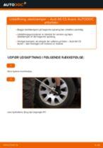 Udskift støddæmper bag - Audi A6 C5 Avant | Brugeranvisning