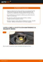 Cómo cambiar: discos de freno de la parte trasera - Audi A6 C5 Avant | Guía de sustitución