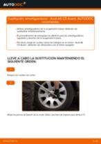 Cómo cambiar: amortiguadores de la parte trasera - Audi A6 C5 Avant | Guía de sustitución
