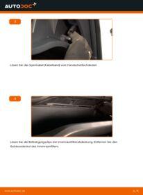 Wie der Wechsel durchführt wird: Innenraumfilter 1.4 D-4D (NDE150_) Toyota Auris e15 tauschen