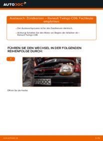 Wie der Wechsel durchführt wird: Zündkerzen 1.2 Renault Twingo Mk1 tauschen