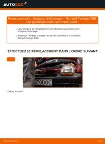 Comment effectuer un remplacement de Bougies d'Allumage sur 1.2 Renault Twingo 1